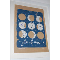 La Luna Screen Print