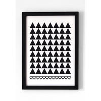 Black & White Pattern Print. Point and click!