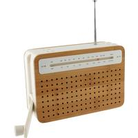 Lexon Safe Bamboo Eco Friendly Radio
