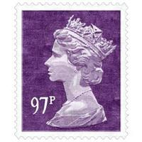 Purple 97p Rug (Officially Licensed by Royal Mail Group Ltd)