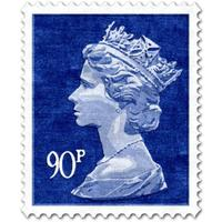 Blue 90p Rug (Officially Licensed by Royal Mail Group Ltd)