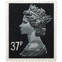 Black 37p Rug (Officially Licensed by Royal Mail Group Ltd)