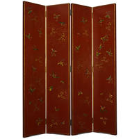 Shanxi Butterfly Screen - red lacquer