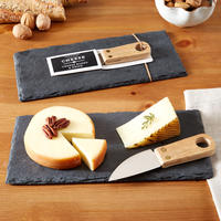 Slate Cheeseboard with Knife