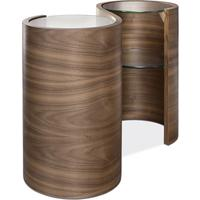 Tom Schneider Swirl (Lovers) lamp table by Tom Schneider
