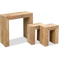 Stone Nest of 3 Tables