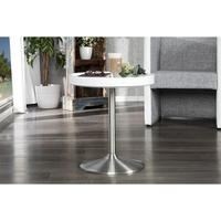 Design butlers table tray table white side table