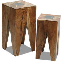 Slate Nest of 2 Lamp Tables