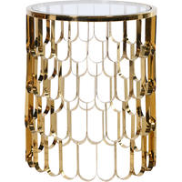 Koi Gold Side Table