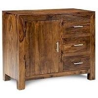 Cube Sheesham Sideboard - Small