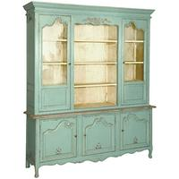 Etienne glazed showcase cabinet
