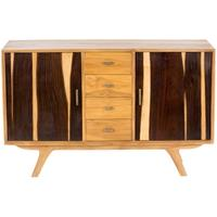 Retro Two Tone Mid Century Sideboard