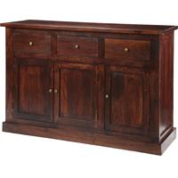 Maharani Dark Wood Large Sideboard