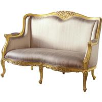Gold French Settee