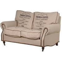 Thomas Eiffel Linen 2 Seater Sofa
