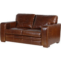 Churchill leather 2 Seater Sofa