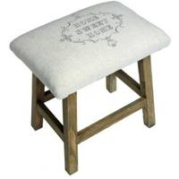 Home Sweet Home Stool by Fields of Blue