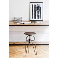 Industrial metal stool by BODIE and FOU