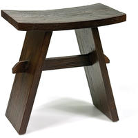 Indah Dark Chinese Stool by Puji