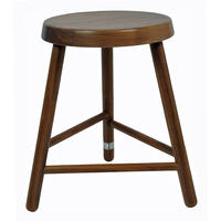 Companion Stool Walnut by Lifestylebazaar