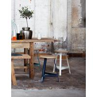 Metal Stool  by Rose & Grey