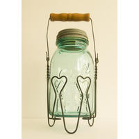 Vintage Ball Mason Jar Holders.  Get a grip! from Magpie Miller