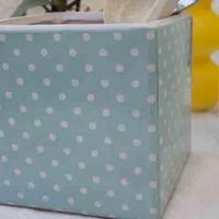 Blue Polka Dots Kitchen Pot
