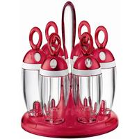 Guzzini Red Revolving Spice Rack from Gifts with Style