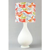 LARGE WHITE VASE LAMP from The Wooden Lamp Company