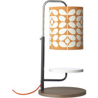 Orla Kiely - Table Lamp - 60's Stem Clementine