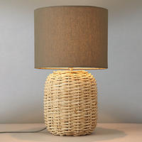 John Lewis Branning Basket Weave Table Lamp from John Lewis