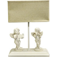 French Style Cherub Lamp Complete with Shade
