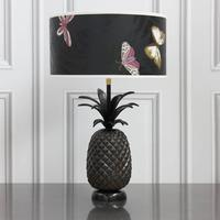 Bronze Finish Pineapple Lamp