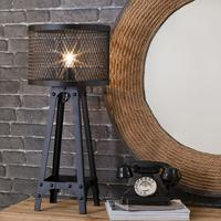 Industrial Mesh Architectural Table Lamp