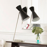Black Costello Table Lamp - 30% OFF
