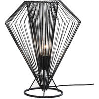 Wire Diamond Table Lamp