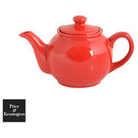 Brights Red Teapot - 2 Cup