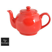 Brights Red Teapot - 6 Cup