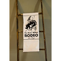 San Diego Rodeo Tea Towel. Yee-haw!