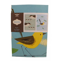 Magpie Birdy Thrush and Wagtail Tea Towel Set