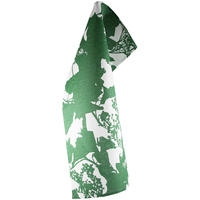 Iris Hantverk - Green/White Tyresta National Park Tea Towel
