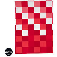 Confetti Chequered Tea Towel