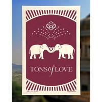 Tons Of Love Tea Towel