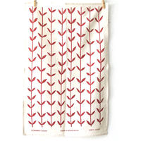 Orla Tea Towel - Red