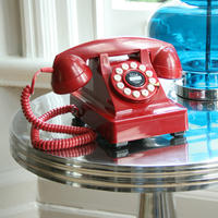 Red Series 302 Telephone