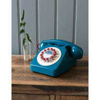 Retro Telephone - Petrol Blue
