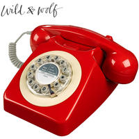 Wild & Wolf 746 Phone Box Red