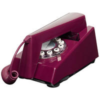 Wild and Wolf Trim Phone (Purple Plum)