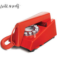 Wild and Wolf Trim Phone - Red