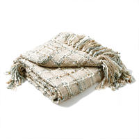 Kelso Throw Natural Silver